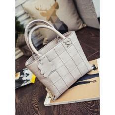 Raja Online Collection Tas Fashion Wanita Cantik Hand Bag DIC969-BEIGE