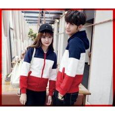 RatuCouple Jaket Pasangan Estonia / Jacket Couple / Jaket Sepasang / Jacket Girl & Jaket Pria LC - Navy