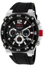 Red Line Jam Tangan Pria - Hitam - Strap Silikon - RL-50032-01