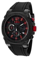 Red Line Jam Tangan Pria - Hitam - Strap Silikon - RL-50032-BB-01-RA