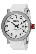 Red Line Jam Tangan Pria - Putih - Strap Silikon - RL-18000-02-WHT-ST