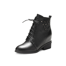 REDDRAGONFLY meningkat perempuan tinggi atas sepatu sepatu wanita (Hitam)