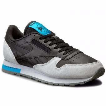 Reebok Classic CL Leather GN - Black Grey