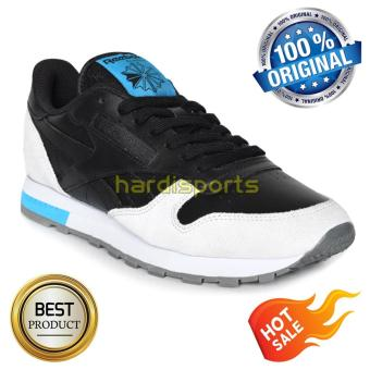 Reebok Men CL Leather BD4414 - Black Grey