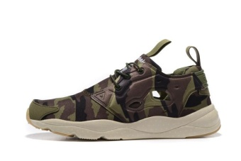 Reebok Mens Sports Shoes Reebok Furylite Running Shoes JoggingShoes(camouflage green) - intl