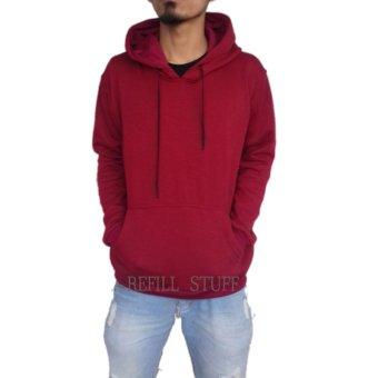 Refill.s jaket jumper polos(marun)
