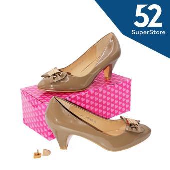 Regina Sepatu Fantofel High Heels Wanita HAK 7 cm 1611-115-120 - Khaki