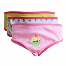 Rider Kids R702BB Celana Dalam Anak Perempuan - 3 pcs - Multicolor