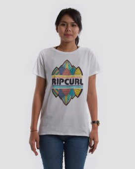 Rip Curl Decor Women Tee - Putih