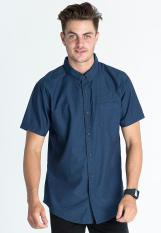 Rip Curl Deep Blue Sea Short Sleeve Shirt - Blue