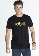 Rip Curl Thunder Type Men Tee - Black
