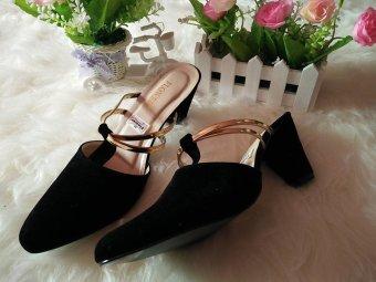 RSM Sepatu Heels Wanita S-235- Hitam