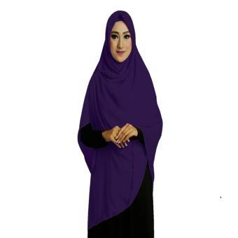 Ruman Hijab Jilbab Segi Empat Premium Ruman Square L Navy