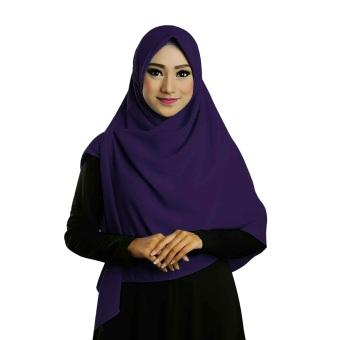 Ruman Hijab Jilbab Segiempat Ruman Square M (Navy)