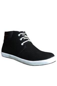 S. van Decka MSR 01 Sepatu Kasual Pria - Hitam