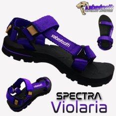 Sabertooth Sandal Gunung / Traventure Spectra Violaria Size 32 s/d 47 [Hitam Tali