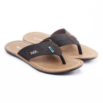 Sandal Pantai Pria Tutup Ujung Bernapas 33088 Coklat - Update Daftar ... f22e320a07