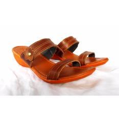 Sandal Sepatu Wedges Wanita Murah MR81 Cream