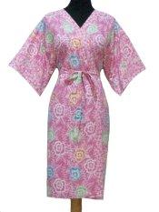 Sanny Apparel B 340 Kimono Batik - Pink Floral