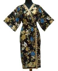 Sanny Apparel B 391 Kimono Batik - Hitam
