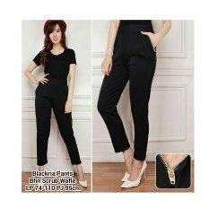 SB Collection Celana Panjang Blackria Pants-Hitam