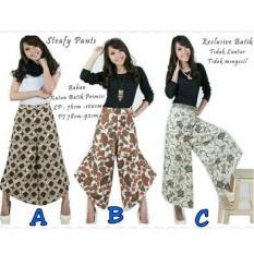 SB Collection Celana Panjang Steafy Kulot Batik-Multicolor B