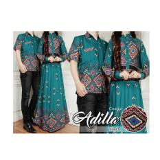 SB Collection Couple Batik Adelia Maxi Hijau .