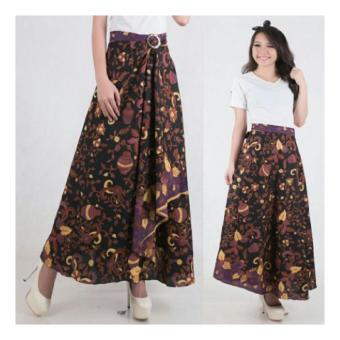 SB Collection Rok Maxi Lilit Payung Kania Batik-Multicolor