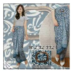 SB Collection Rok Maxi Lilit Tiar Batik Long Skirt-Biru