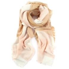 Scarf Soft Wrap Square Oversize Cashmere-like Shawl For Women Winter Plaid Checked 2#
