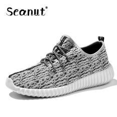 Seanut Men's Casual Shoes Men Shoes Low Cut Fashion Sneaker (Beige) - Intl