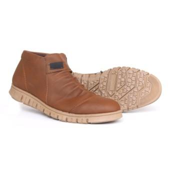 SEPATU - Anthonio Zipper Boots Klasik Sepatu Pria Casual Sneakers Original Cowok