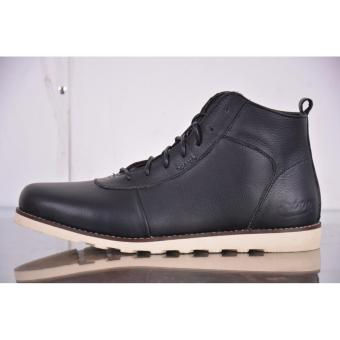 Jual Sepatu Boots Pria Arboo Brodo Hitam Kulit Asli Original Online ... 6fa409f0c4