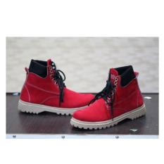 Safety Girl Coklat Cek Harga Source · sepatu boots safety girl merah