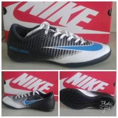 Sepatu Futsal Nk Mercurial Black Volt White