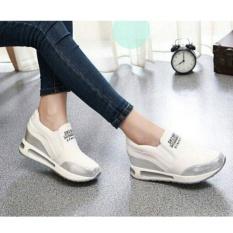 Sepatu Kets Wanita Casual Paling Keren - Sepatu Olahraga Wanita - Sporty Shoes For Women E401 White