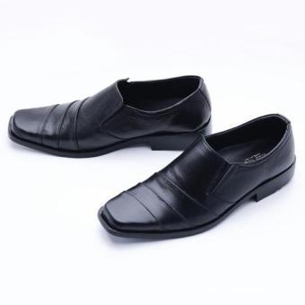 Sepatu Kulit Pantofel  Sepatu Pria  Sepatu Kerja Kantor Sol Karet Ukuran 40 ae48f74b57