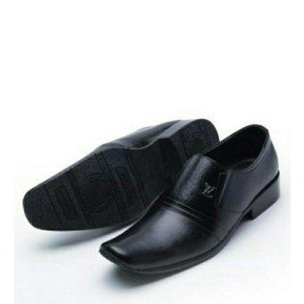 Sepatu kulit pria / Pantofel Louis Vuitton