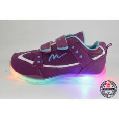 Sepatu Lampu Anak Ardiles KITTY-UNGU