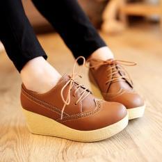 Sepatu Platform Wedges Wanita SDW75
