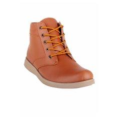 Sepatu Pria Kasual Semi Boot TAN Trendi Best Seller