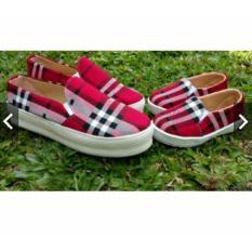 Sepatu wanita dan Sepatu anak Sepatu couple BRB Merah