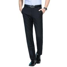 Seven Brand Men Dress Pants striped Suit Trousers Slim Wool & Mulberry Silk Formal Smart Business