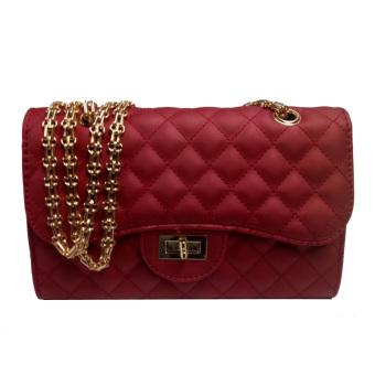 Shishang semi dan baru Mobile Messenger tas tas kecil tas tas (031 jelly tas merah