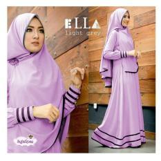 Shoppaholic Shop Baju Muslim Syari Najwa - Lavender