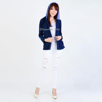Shoppaholic Shop Outer Wanita Devina - Navy