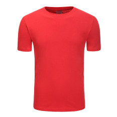 Simple Style Man T Shirt Cotton, S-XXXL Size, Red