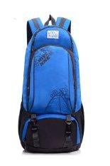 Sk Mall 039 Hiking Travel Backpack 40L Shoulder Bags / Sling Bag / Messenger Bags (Sky Blue)