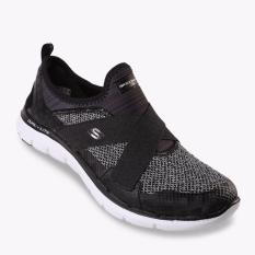 Skechers Flex Appeal 2.0 New Image Women's Running Shoes - Hitam