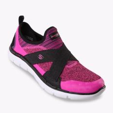 Skechers Flex Appeal 2.0 New Image Women's Running Shoes - Pink-Hitam